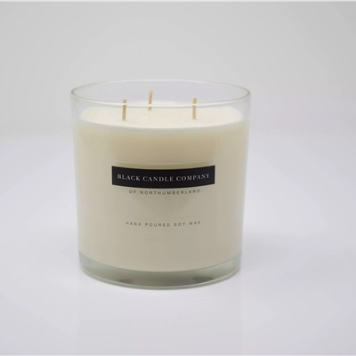 Luxury Rock Rose and Oak Candle