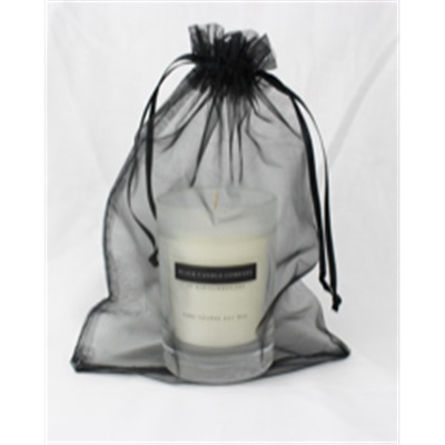 Men's Small Votive Candle in Organza Bag
