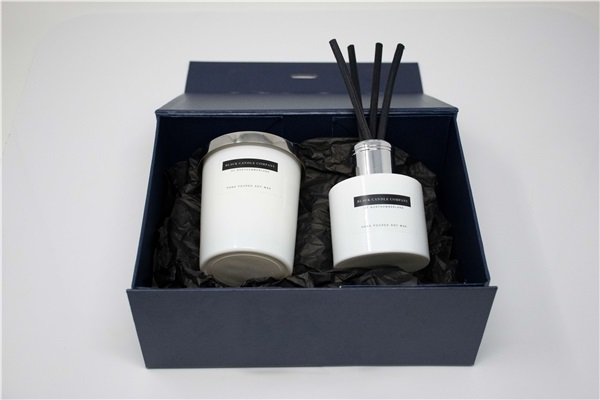 Signature Candle and Diffuser Gift Set in Box