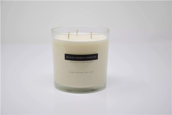 Large Luxury Velvet Royal Candle
