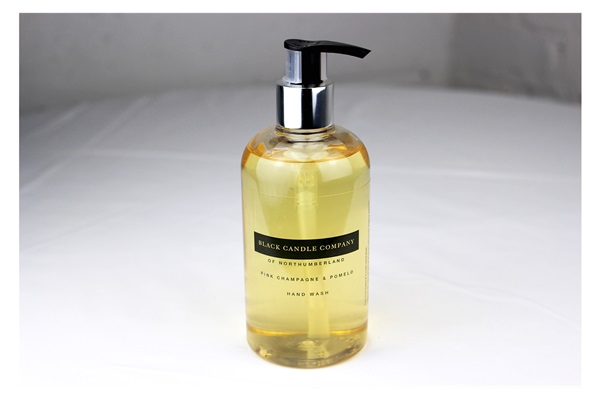 Sparkling lemon hand wash