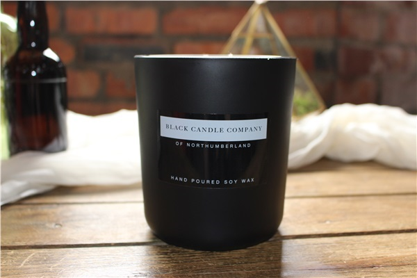 Irish tweed candle