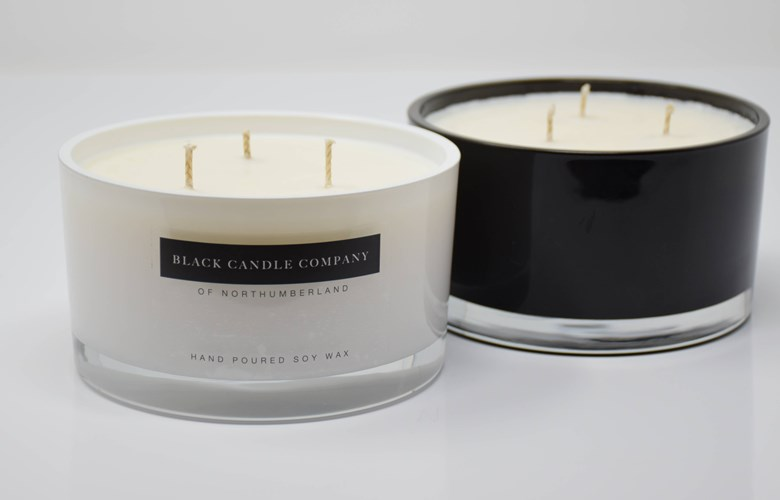 Two 3 Wick Candles
